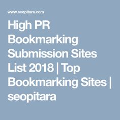 Top High PR free Indian classified sites 2018 Here is the list where