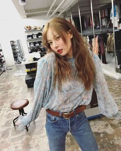 Find Hyuna Fashion, KPOP Shirts & KPOP Blouses for an affordable price Korean Girl, Asian Girl, Korean Idols, Hyuna Fashion, My Girl, Cool Girl, Kpop Shirts, Divas, Outfits
