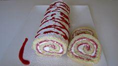 Hindbær Roulade - Raspberry Swiss Roll