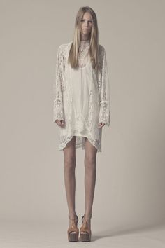 my kind of white lace dress