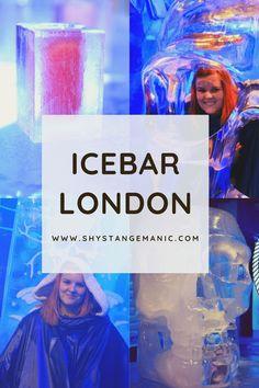 Bloggers Below Zero Event at IceBar London - Shy, Strange, Manic