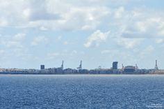 Vista de Las Palmas de Gran Canaria, 24 de Junio de 2015, a las 11:00 am...http://www.kokilin.com