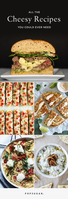 Here are more than 120 recipes that star cheese, including appetizers, dinners…