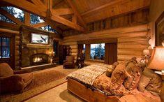 Ohromující ložnice rustikální