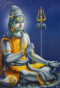 Shiva in Meditation Shiva Hindu, Shiva Art, Shiva Shakti, Hindu Deities, Hindu Art, Krishna Radha, Hare Krishna, Om Namah Shivaya, Lord Shiva Hd Images