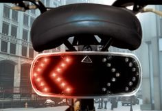 Now if I rode a bike, this would be awesome to have !!! Wireless Bicycle Turn Signal