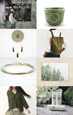 Green by Loula on Etsy--Pinned with TreasuryPin.com  #etsy #etsyfinds #chaoscurators