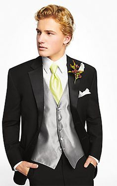 Looking suave in a Ralph Lauren Three-Button Super 100s Notch Lapel #Tuxedo for #prom!