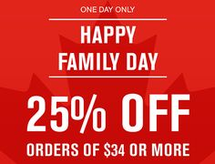 Lids Canada Family Day Sale: Save 25% Off Sitewide with Promo Code http://www.lavahotdeals.com/ca/cheap/lids-canada-family-day-sale-save-25-sitewide/175895?utm_source=pinterest&utm_medium=rss&utm_campaign=at_lavahotdeals