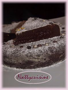 Nattycuisine: Fondant au chocolat rapide (Cookéo) Cooking Chef, Cooking Recipes, Chocolate Cake, Biscuits, Favors, Food And Drink, Sweets, Blog, Instant Pot
