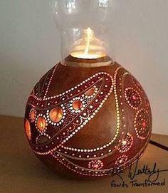 gourd art lamp ile ilgili görsel sonucu