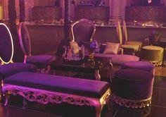 Gold Customized Lounge Furniture