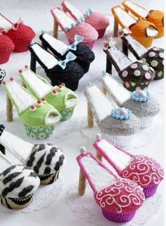 sweet art by elizabeth high heel cupcakes - Google Search
