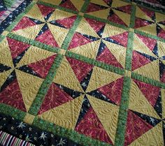 starry pursuit. This is on my bucket list - quilted just like this!!!