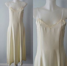 A personal favorite from my Etsy shop https://www.etsy.com/ca/listing/267532485/vintage-nightgown-vintage-maxi-slip