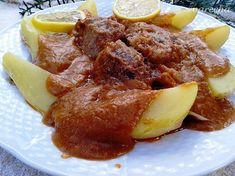 Furmanské bravčové líčka (fotorecept) - Recept French Toast, Pork, Breakfast, Sweet, Ethnic Recipes, Kale Stir Fry, Morning Coffee, Candy, Pork Chops