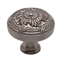 Knob Traditional 38mm Brushed Nickel