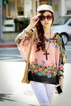 let's shop here : Chiffon Pink Blouse