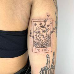 Doodle Tattoo, I Tattoo, Tarot The Fool, Tarot Tattoo, Crystal Tattoo, Tattoo Flash Art, Ink Illustrations, Tattoo Designs, Tattoo Ideas