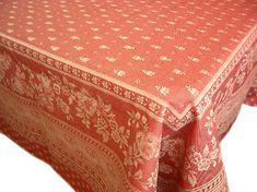 プロヴァンス、プロバンスジャガード織りはっ水テーブルクロス販売