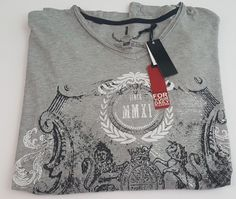 Jeans by Buffalo Men's Big and Tall Graphic T Shirt Size 4XL NEW #JeansbyBuffalo…