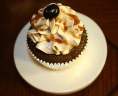 Caramel (Mocha) Macchiato Cupcake. Espresso and homemade caramel sauce
