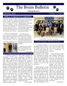 Beautiful #schoolnewspaper from @capnewswire! A great mix of editorial + images for a truly CAPtivating design.  #newspaper #digital #eNewspaper #school #education #newsletter
