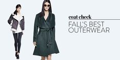 Coat check: fall's best outerwear trends for women.