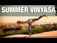 60 Minute Yoga Class: Run the Year Yoga Challenge with Five Parks Yoga - YouTube