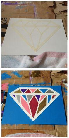 easy canvas! #DIY #ADPI by leanna
