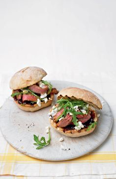 This fabulous steak sandwich recipe uses clever time-saving ingredients to make midweek cooking a breeze.