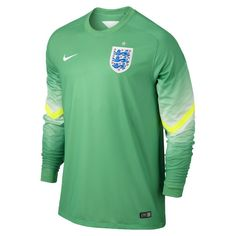 b942eff119053 Nike England Long Sleeve Goalkeeper Stadium Jersey 2014. Price   66.00