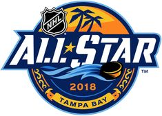 NHL All-Star Game Primary Logo on Chris Creamer's Sports Logos Page - SportsLogos. A virtual museum of sports logos, uniforms and historical items. Nhl Logos, Sports Logos, Language Logo, Nhl All Star Game, Word Mark Logo, Event Logo, Anniversary Logo, Star Logo, Mbs