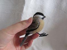 Needle Felted Chickadee <3