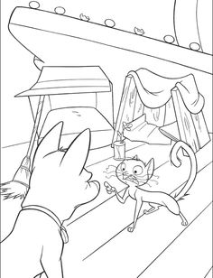cat persuade bolt clean up coloring page bolt car coloring pages