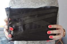 My blogpost. DIY clutch! http://sweetsweetthings.blogspot.fi/2014/03/do-it-yourself-kevaan-makein-pikkulaukku.html