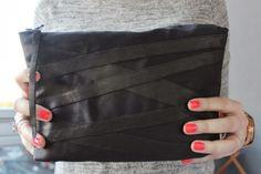 My blogpost. DIY clutch! http://sweetsweetthings.blogspot.fi/2014/03/do-it-yourself-kevaan-makein-pikkulaukku.html