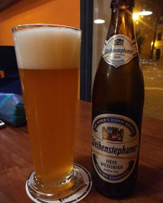 Apparently @weihenstephan_official is the oldest brewery in the world. #hefeweissbier.   #mahon