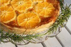 Mila Liebe : Orangen-Rosmarin-Tarte mit weißer Schokolade #ichbacksmir #tarte