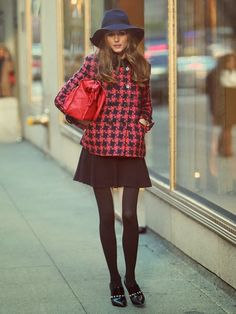 Houndstooth -Olivia Palermo