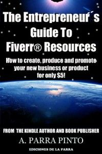 The Entrepreneur's Guide To Fiverr Resources    This is a Kindle book, but you can access it in any other format by using FREE Amazon reading apps