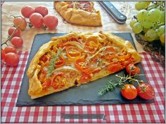La Cocina de los inventos: Galette con Tomates Cherry