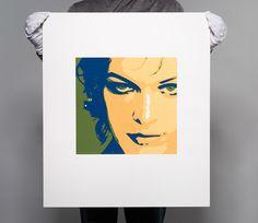 Milla I. Screen Printing, Modern Art, Polaroid Film, Prints, Atelier, Silk Screen Printing, Screenprinting, Contemporary Art, Mid Century Modern