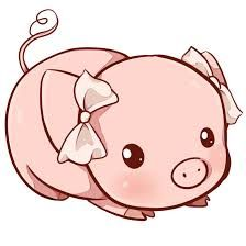 Kawaii pig by Dessineka on DeviantArt 365 Kawaii, Kawaii Pig, Kawaii Cute, Cute Baby Pigs, Cute Piggies, Cute Baby Animals, Cute Animal Drawings, Kawaii Drawings, Cute Drawings