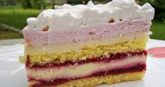 Hungarian Desserts, Cakes And More, Mousse, Vanilla Cake, Breakfast Recipes, Food And Drink, Sweets, Foods, Pies