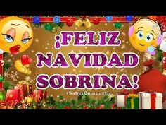Desear Feliz Navidad Sobrina - YouTube