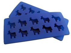 """""""Democratic Party"""" Donkey Silicone Ice Cube Trays and Baking Molds Made from Flexible and Eco-Friendly, Food-Grade Silicone, 2 Trays by NicecubeZ. $11.99. Eco-Friendly Food Grade Silicone Withstands Temperatures from -40 to +425-degrees Farenheit!. Unique, Fun """"Democratic Party"""" 'Donkey' Molds will Liven Up any Party or Occassion!. Also Available from NicecubeZ; """"Republican Party"""" Elephant Trays, and """"Undecided Party"""" Trays with One Democratic Tray and One Republican Tray!. ..."""