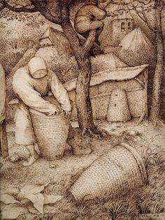 Pieter-Bruegel-the-Elder---The-Beekeepers-03.jpg 898×1,200 pixels