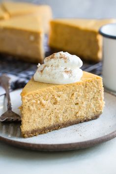 If you're looking for the best Pumpkin Cheesecake, all recipes are not created equal. For a pumpkin pie cheesecake lover, Thanksgiving can't come too quickly! Fig Cake, Pear Cake, Cheesecake Recipe From Scratch, Pumpkin Cheesecake Recipes, Pumpkin Recipes, Cold Cake, Salty Cake, Graham Cracker Crust, Savoury Cake