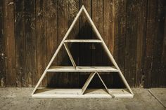 Hey, I found this really awesome Etsy listing at https://www.etsy.com/listing/187542503/one-of-a-kind-triangle-shelf